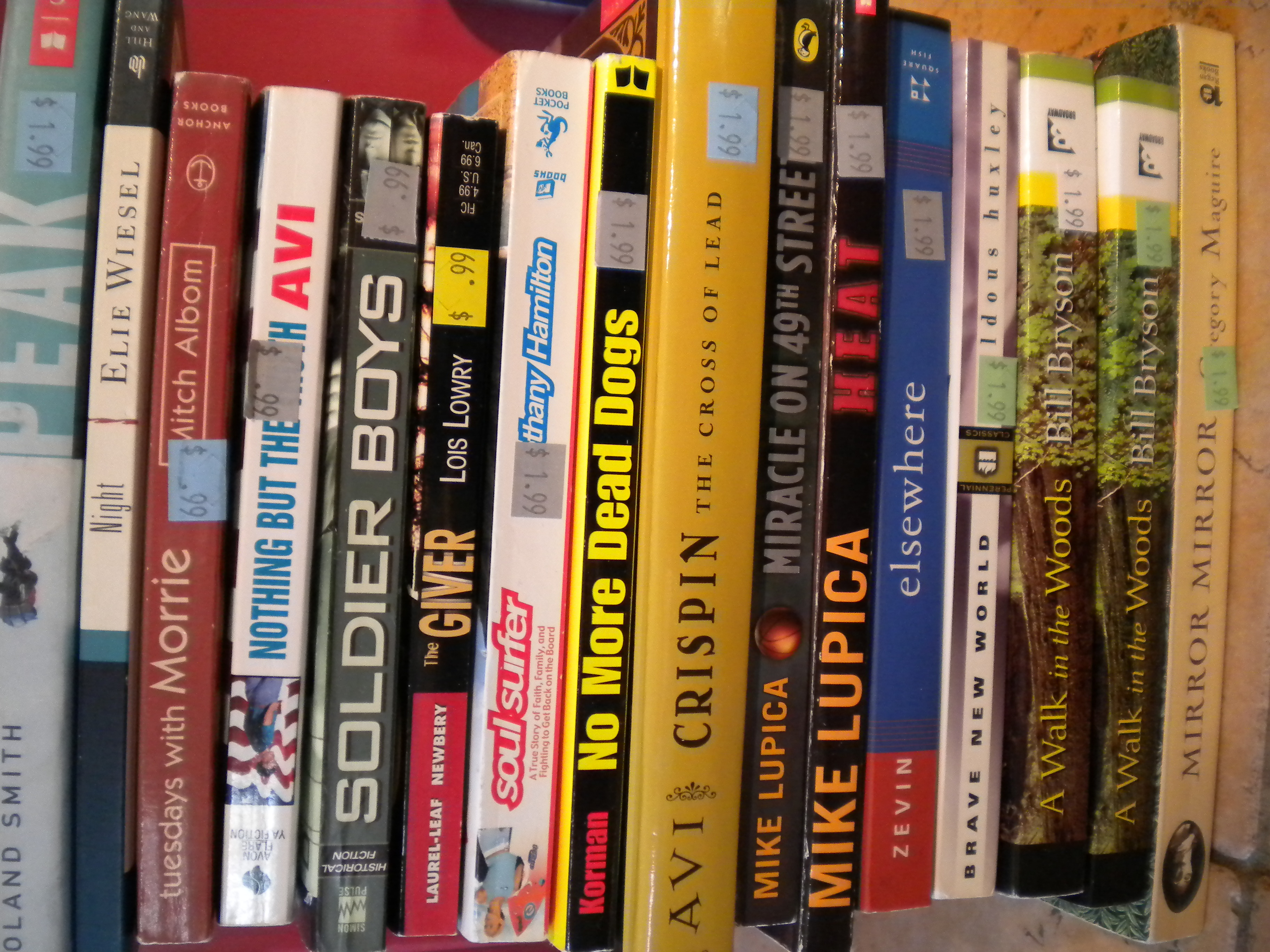 Southington Goodwill Store Book Haul16 Quality Texts For $3333!
