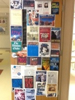 Social Studies (Gr 7) had this door and the side wall as well!