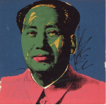 Andy Warhol Mao 93, 1972 Screenprint sold by RUDOLF BUDJA GALERIE. $200,000.00 + Free Shipping