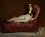 Édouard Manet, French, 1832–1883 Reclining Young Woman in Spanish Costume