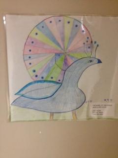 """Peacock"" 3 short poems: http://www.voicesnet.org/displayonepoem.aspx?poemid=223518"