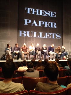 Talkback with the actors at Yale Repertory 4/3/14