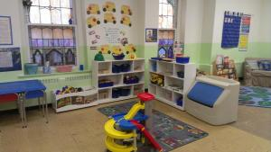 An example of a Kindergarten workspace