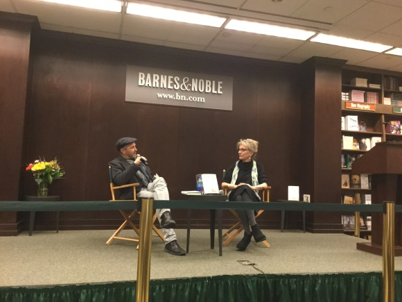 """""""There are writers that leave porous holes [in their works] with air pockets for the reader,"""" said Colum McCann,introducing Elizabeth Strout, whose novel I am Lucy Barton was recently released. """"She whispers, 'trust me I m going to take you somewhere' and when we get there..she has told me secrets."""""""