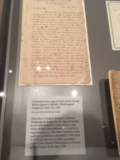 "A Forgery: ""Contemporary Letter from George Washington to Martha"